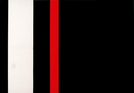 Regina Aprijaskis, 'Negro, blanco y negro', 1998