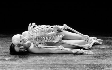 Marina Abramović, 'Self Portrait with Skeleton',  2003