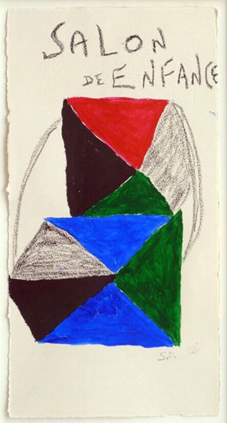 Sonia Delaunay, 'Salon De L'Enfance', 1966