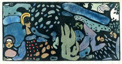 Wassily Kandinsky, 'Die Grune Frauen [The Green Women]', 1907