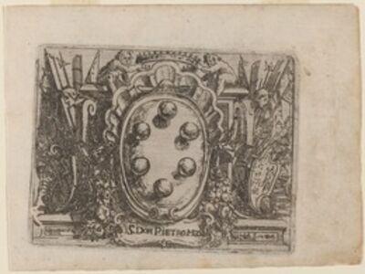 """Giovanni Battista Bracelli, 'Dedication to Don Pietro Medici from """"Bizzarie di varie Figure""""', 1624"""