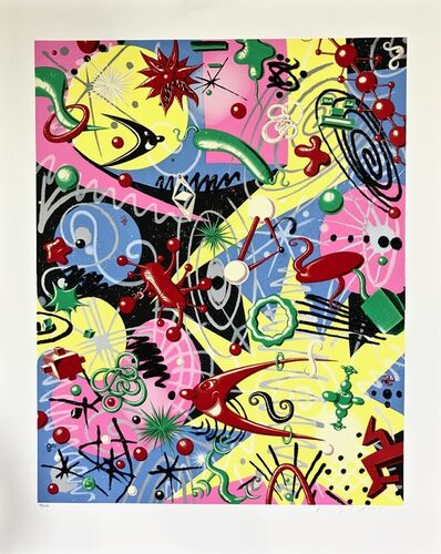 Kenny Scharf, 'Grammy', 1997