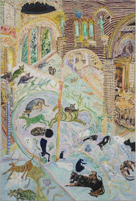 Olive Ayhens, 'Memories of Beasts Past', 2013