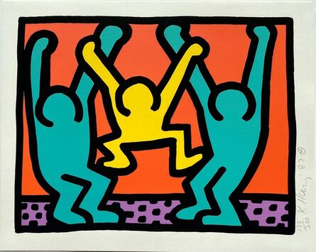 Keith Haring, 'Pop Shop I,  (2)', 1987