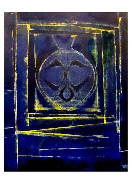"""Max Ernst, 'Pochoir """"Blue Bird"""" after Max Ernst', 1958"""