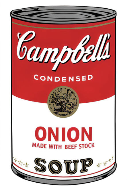 (after) Andy Warhol, 'Campbell's Soup Can 11.47 (Onion)', 1960s printed after