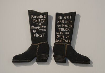Jerry Beck, 'Paradise Exists But... He Got Her into his Pick-Up Truck...', 2014