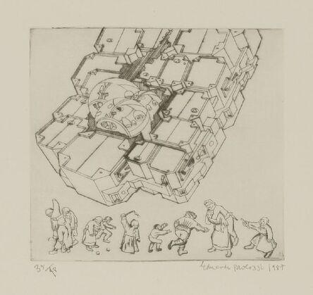 Eduardo Paolozzi, 'For Leonardo', 1987
