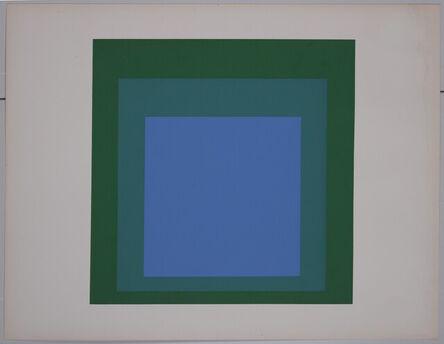 Josef Albers, 'Formulation Articulation', 1972