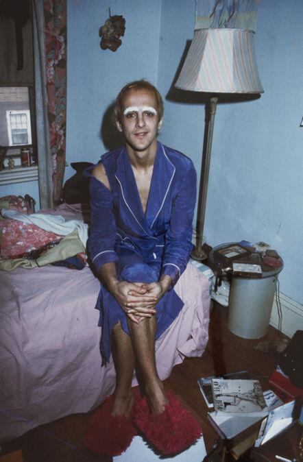 Nan Goldin, 'Bruce bleaching his eyebrows, Pleasant St., Cambridge, MA', 1975