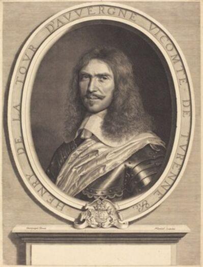 Robert Nanteuil after Philippe de Champaigne, 'Marechal de Turenne', 1649