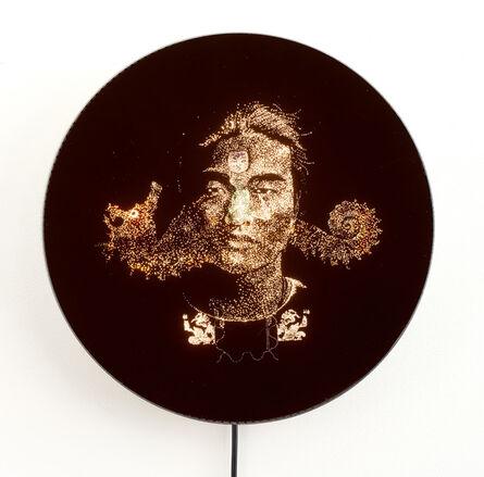 Kesang Lamdark, 'Green Nose Mandala', 2016