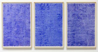 Lies Kraal, 'Momi Triptych 1989', 1989