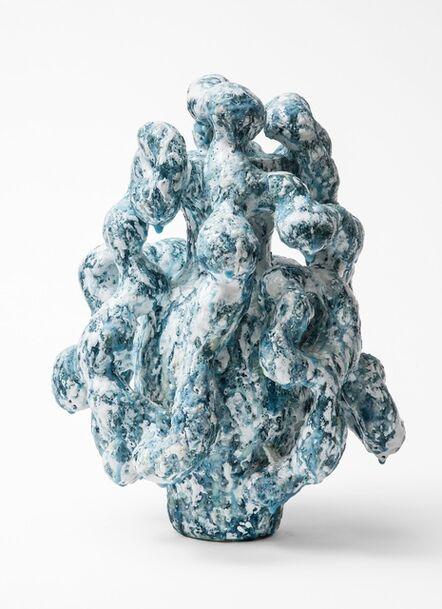 Morten Løbner Espersen, 'Horror Vacui (Pale Blue/White)', 2014