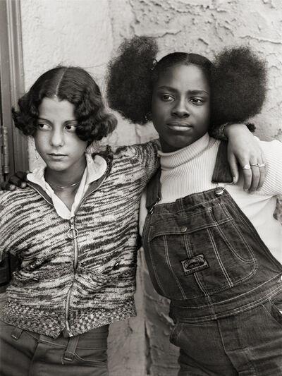Builder Levy, 'Jacqueline Santiago and Cathy Lindsey, Bushwick, Brooklyn, New York', ca. 1975