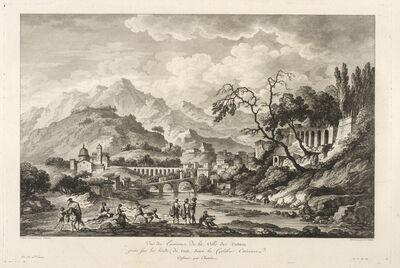 Jean Claude Richard de Saint-Non (author), 'Vu‰ des Environs de la Ville de Cosenza', 1781