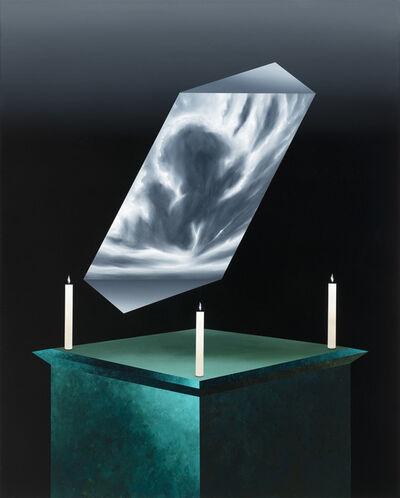 Titus Schade, 'Stillleben Wolkenlandschaft', 2020
