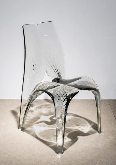 Zaha Hadid, 'Chair 'Liquid Glacial' Smoke', 2015