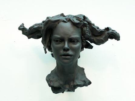BOB CLYATT, 'Woman's Head – Horizontal Hair', 2017