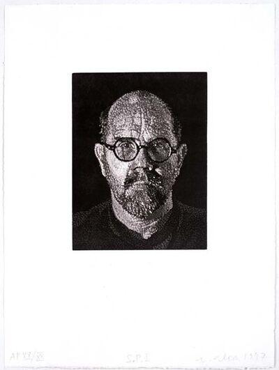 Chuck Close, 'S.P. I', 1997