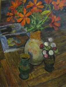 Vadim Semenovich Velichko, 'Still life with lilies', 1970