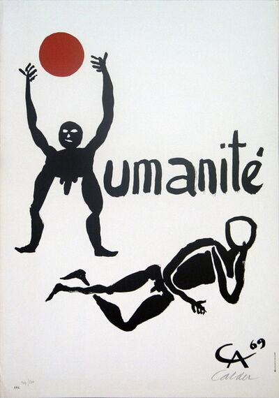 Alexander Calder, 'Fete de L'Humanite', 1969