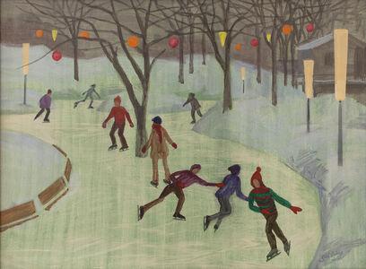 Philip Surrey, 'Patineurs sur le Mont-Royal', ca. 1972