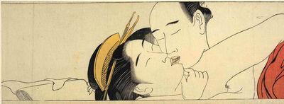 Torii Kiyonaga, 'Detail taken from Sode no maki (Handscroll for the Sleeve)', ca. 1785