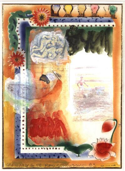Robert Rauschenberg, 'Sri Lanka IV', 1983
