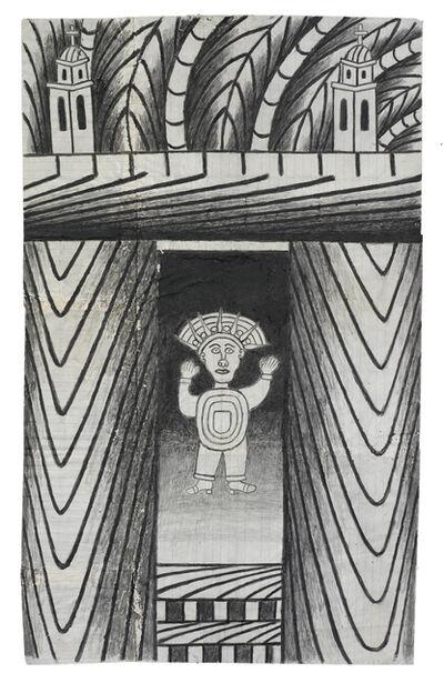 Martín Ramírez, 'Untitled (Aztec)', ca. 1960