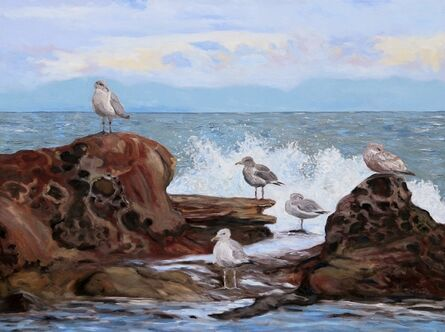 Terrill Welch, 'A Gull's Day', 2021