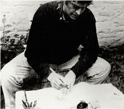 Marcel Broodthaers, 'La pluie (Projet pour un texte)', 1969