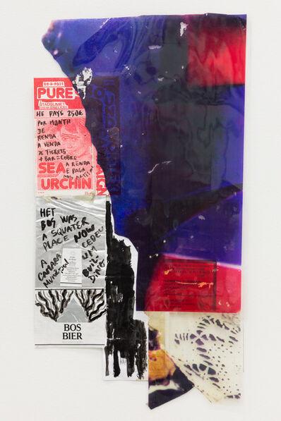 "Carla Filipe, '""Comer papel mastigado - o desejo de compreender o velho continente para cuspir a sua história / Eating chewed paper - the desire to understand the old continent to spit its story"" Untitled 12', 2014"