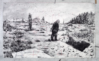 William Kentridge, 'Drawing for City Deep (Soho Looking into Pit)', 2019