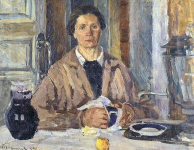 Aleksey Dmitrievich Potapov, 'Woman at the table', 1940