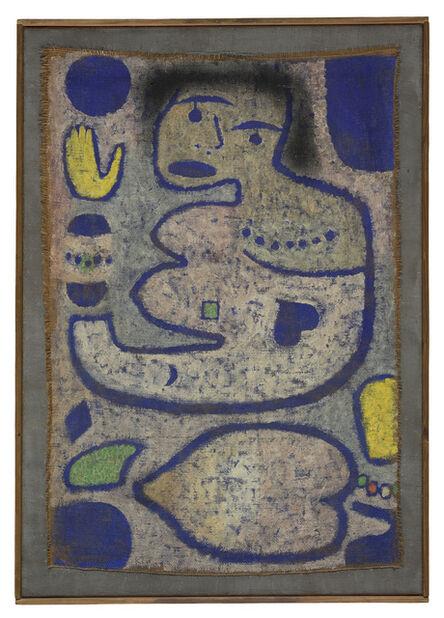 Paul Klee, 'Chant d'amour à la Nouvelle Lune', 1939