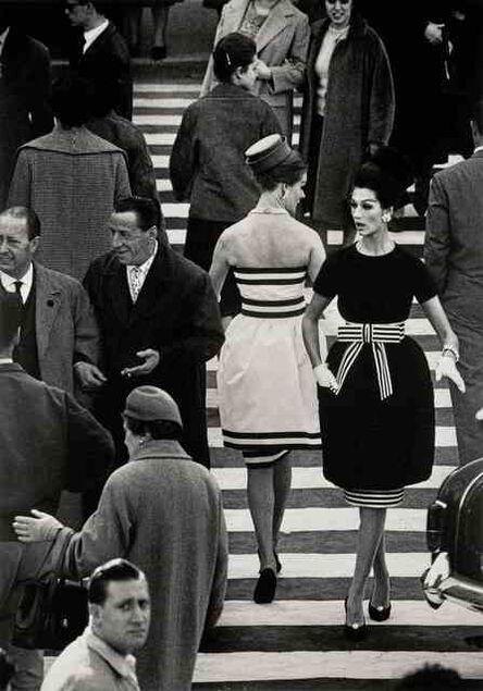 William Klein, 'Nina and Simone, Piazza di Spagna, Rome (Variant)', 1960