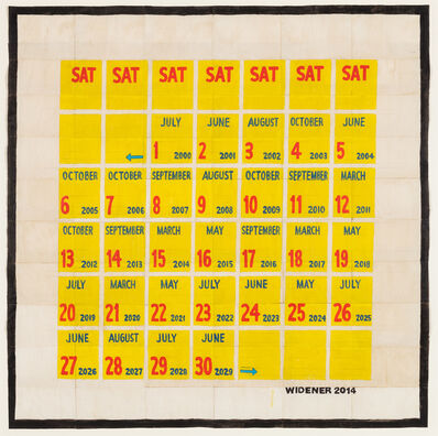 George Widener, 'Month of Saturdays', 2014