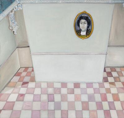 Flavia Metzler, 'Interior e retrato', 2013
