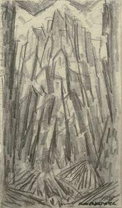 Abraham Walkowitz, 'City Abstraction II', ca. 1908