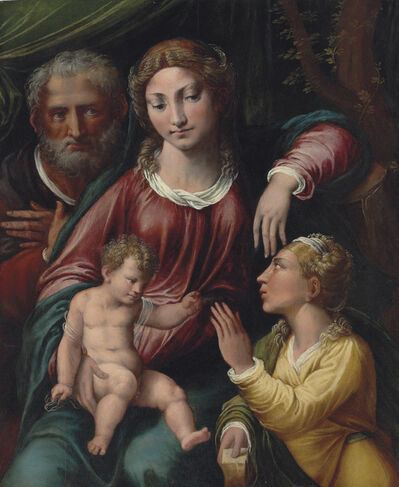Biagio Dalle Lame, called Biagio Pupini, 'The Mystic Marriage of Saint Catherine'