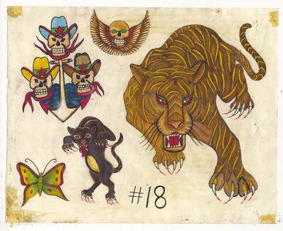 Rosie Camanga, 'Untitled (Big Tiger)', ca. 1950