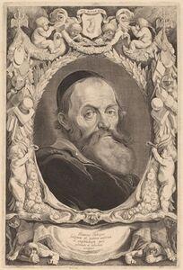 Jonas Suyderhoff after Pieter Claesz Soutman, 'Hendrik Goltzius', 1649