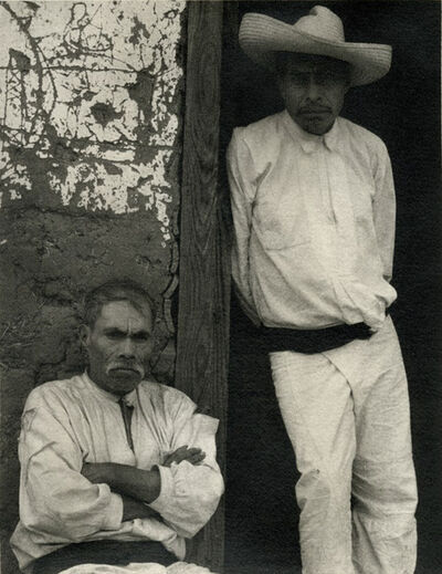 Paul Strand, 'Portrait of Two Men, Mexico', ca. 1930s/1967