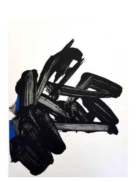 Pierre Soulages, 'Original Lithograph by Pierre Soulages', 1964