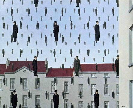 René Magritte, 'Golconda (Golconde)', 2009