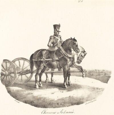 Théodore Géricault, 'Cheveaux des Ardennes', 1822