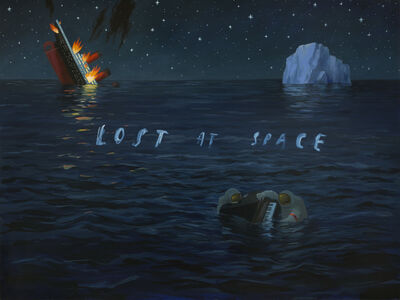 Oliver Jeffers, 'Lost at Space', 2018
