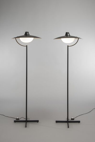 Jacques Biny, 'Pair of floor lamps 291', 1964