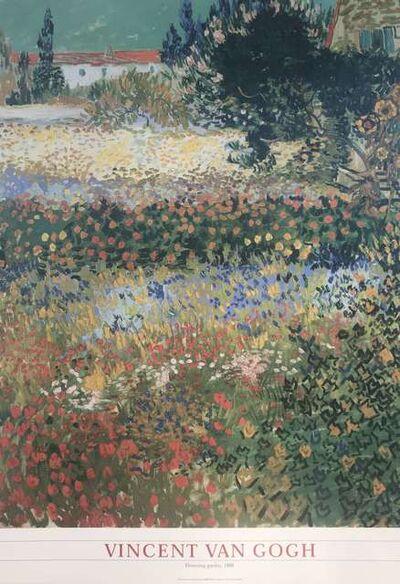 Vincent van Gogh, 'Flowering garden 1888', ca. 2000